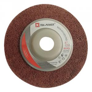 Xtra Power 4 Inch Non Woven Pad, 0 2150, Grit: 120 (Pack of 20)