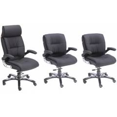 Divano Modular 006 One High & Two Medium Back Executive Office Chair Set