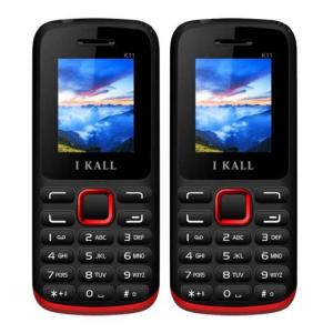 I Kall K11 Red Feature Phone (Pack of 2)