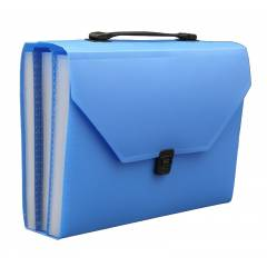 Solo Expanding Case With 31 Pocket (Lock and Handle), EX904, Size: F/C