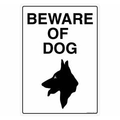 Safety Sign Store beware of Dog Sign Board, PS601-A4PC-01