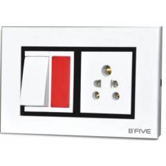 B-Five Royal 12 Module Cover Plate, B-068R (Pack of 10)