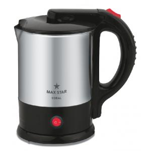Max Star Coral 1.5 Litre Electric Kettle, EK02
