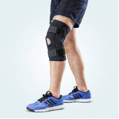 Arsa Medicare AM-007-004 X-Large Knee Support Brace With Open Patella