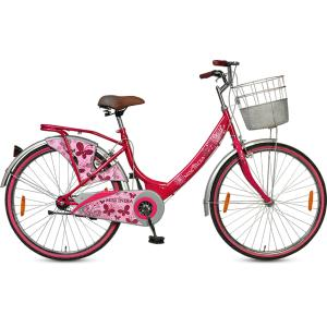 Hero Miss India Gold 26T Girls Pink Bicycle