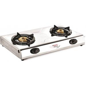 Butterfly Rhino 2 Burner Manual Ignition Stainless Steel Gas Cooktop