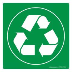 Safety Sign Store Recycle-Graphic Sign Board, ST538-105V-01, (Pack of 5)
