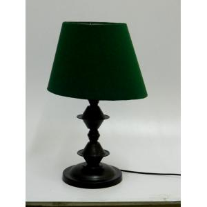 Tucasa Table Lamp with Oval Shade, LG-09, Weight: 600 g