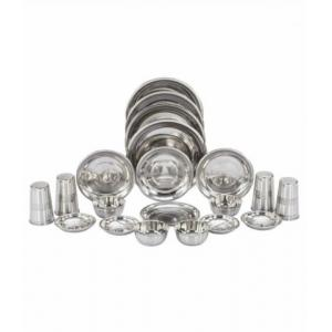 Apricot 24 Pieces Stainless Steel Dinner Set