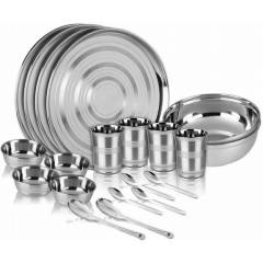 Apricot 20 Pieces Stainless Steel Dinner Set