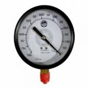 Bellstone 0-5000psi Mild Steel Black Pressure Gauge, 514251423