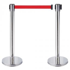 Pravina Steel Queue Manager Safety Stands