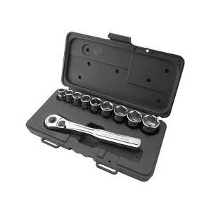 Attrico Socket Set with Ratchet Handle, ASS-12