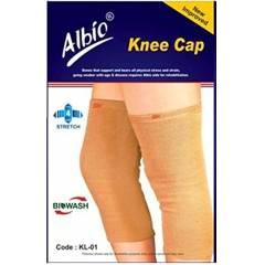 Albio KL-01 Stretchable Knee Cap, Size: L