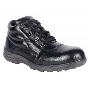 Four Star FR-001(M1) Steel Toe Low Ankle Safety Shoes, Size: 10