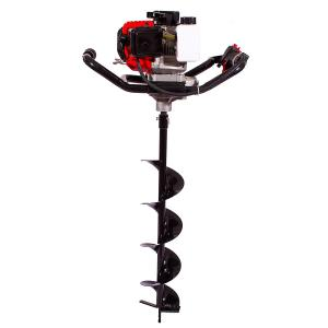 Neptune 1.55 kW Black Earth Auger with 6 Inch Drill Bit, AG-43