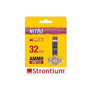 Strontium SR16GSLAMMO 16GB Silver Pendrive