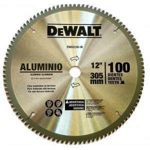 Dewalt 354mm 80 Teeth Circular Saw Blade For Aluminium, DW03250