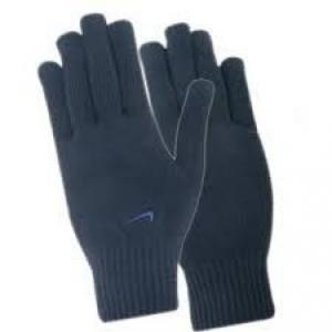 SKTC Knitted Blue Safety Gloves, 40g (Pack of 10)