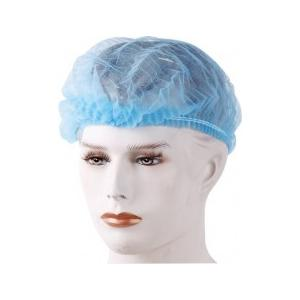 SMS Disposable Non Woven Bouffant Surgical Head Cap (Pack of 100)