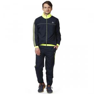 Abloom 113 Navy Blue & Parrot Green Tracksuit, Size: M