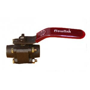 Flowlink 3/4 Inch I.C. Three Pice Ball Valve S/E, 316