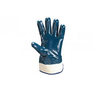 Atlas Knitted Cotton & Rubber Blue Hand Gloves, MAPLE PLUS/GKB-001-N (Pack of 50)