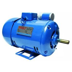 MXVOLT 0.75 HP 4 Pole Single Phase Foot Mounted FHP Induction Motor