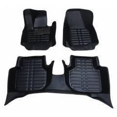 Oscar 5D Black Foot Mat For Toyota Yaris Set
