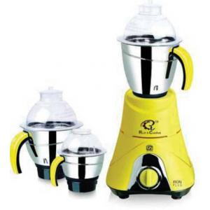 Rich & Comfort Classic 500W White & Yellow Mixer Grinder