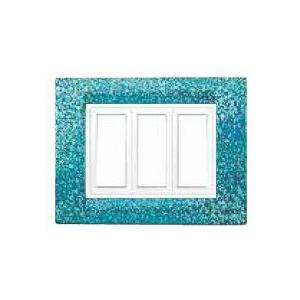 Benlo 16 Module Blue Granite Vesta Combination Plates, BS S1909 (Pack of 5)