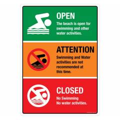 Safety Sign Store Pool-Do's and Don'ts Sign Board, PS726-A3V-01