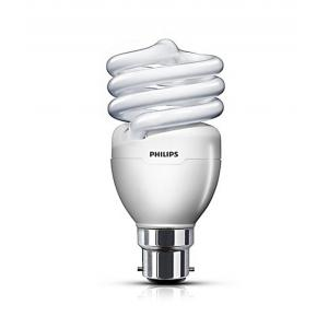 Philips 20W B-22 Spiral VWV T2 QFS HPF CDL CFL (Pack of 4)