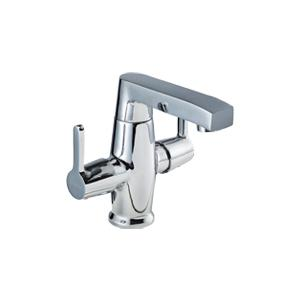 Hindware Barrel Neo Centre Hole Basin Mixer Without Pop Up Waste System, F390014CP