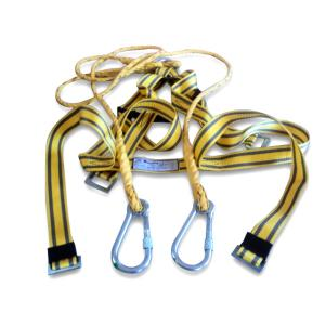 Alko Plus Double Rope Scaffolding Hook Full Body Harness, APS-402