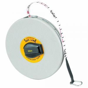Freemans 50 m Fibreglass Top Line Measuring Tape, FT50