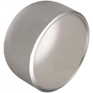 Om Tubes 3 Inch Stainless Steel End Caps (Pack of 5)