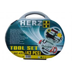 Herz Germany 43 Pieces Tool Set, HZ-452