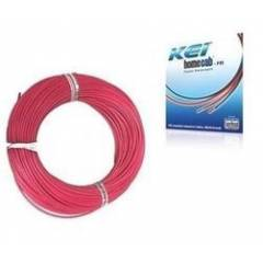 KEI 1sqmm Single Core 180m Red Conflame FRLSH PVC Insulated Industrial Unsheathed Multistrand Cable