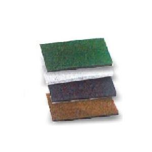 Amsse HSP 1001 12 x 25 cm Abrasive Hand Pad Brown for Scrubbing