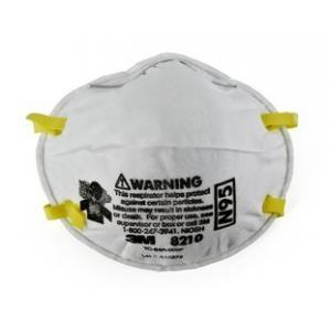 3M Particulate Respirator Mask 8210, N95