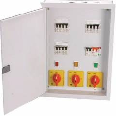 Benlo 63A 4 Way 3 Phase MCB Distribution Boards, BETCDRS463 (Pack of 3)