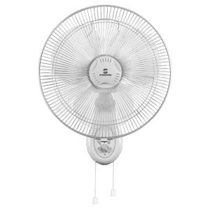 Standard 3 Blades Alfa Wall 400mm White Portable Fan