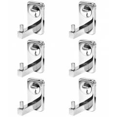 Doyours Metro Series 6 Pieces SS Cloth Hook Set, DY-0760