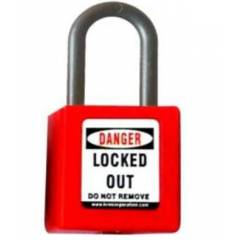 Asian Loto ALC-OLPN OSHA Lockout Safety Padlock With Di-electric Shacle