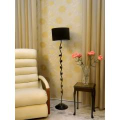 Tucasa Leaf Floor Lamp with Circular Shade, LG-577, Weight: 1100 g