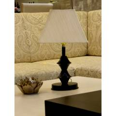 Tucasa Table Lamp with Square Shade, LG-541, Weight: 300 g