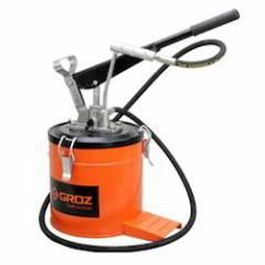 Groz 15Kg Bucket Grease Pump with Wheels, VGP/15