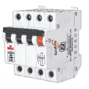 RC Bentex 63A Series C Curve TPN MCB, Capacity: 240/415 V AC