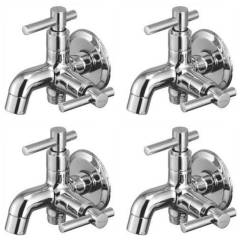 Snowbell Tarim Brass Chrome Plated 2 in 1 Bibcock (Pack of 4)